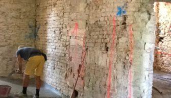 Miglioramento sismico di edificio storico in muratura - Gaiano (PR) - 08
