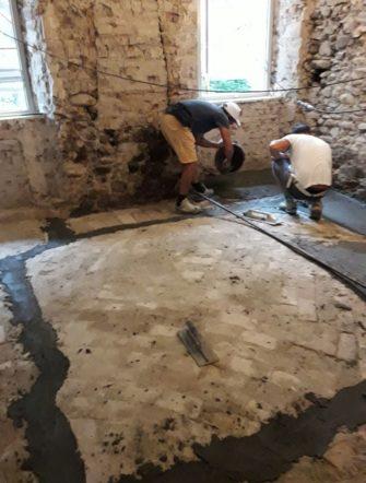 Miglioramento sismico di edificio storico in muratura - Gaiano (PR) - 02