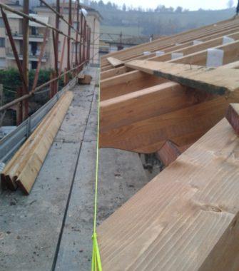 Miglioramento sismico di edificio storico in muratura - Gaiano (PR) - 05