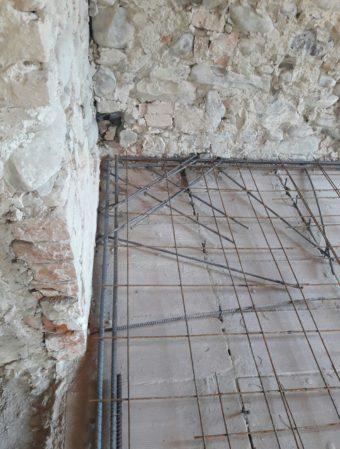 Miglioramento sismico di edificio storico in muratura - Gaiano (PR) - 01