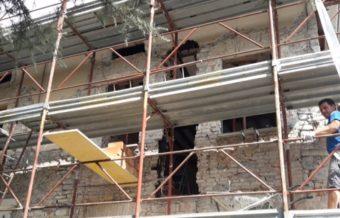 Miglioramento sismico di edificio storico in muratura - Gaiano (PR) - 03