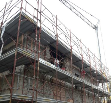 Miglioramento sismico di edificio storico in muratura - Gaiano (PR) - Cover
