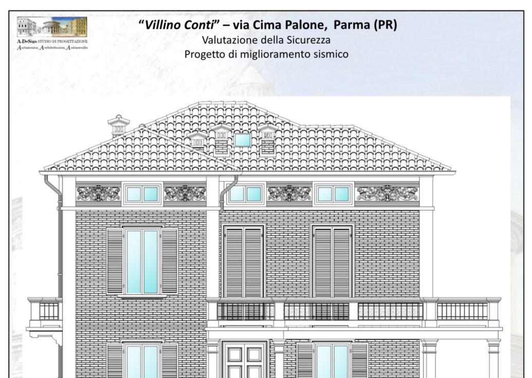 """""""Villino Conti"""" – via Cima Palone, Parma (PR)"""
