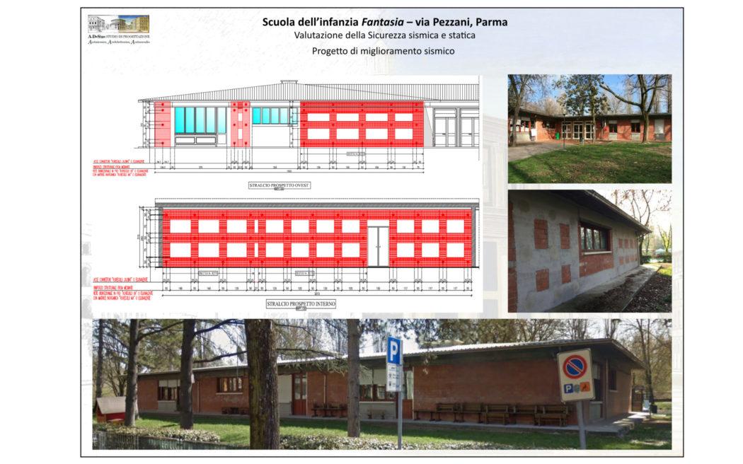 Scuola dell'infanzia Fantasia – via Pezzani, Parma