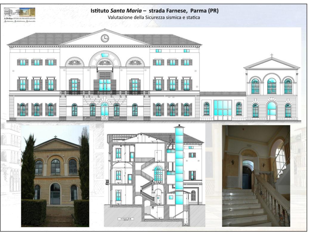 Istituto Santa Maria – strada Farnese, Parma (PR)