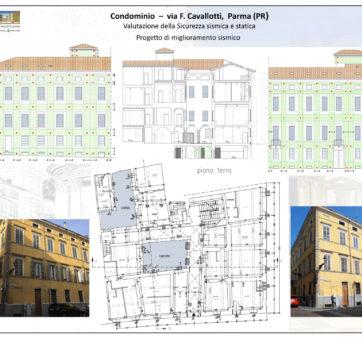 Condominio – via F. Cavallotti, Parma (PR)