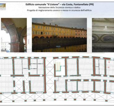 """Edificio comunale """"Il Listone"""" – via Costa, Fontanellato (PR)"""